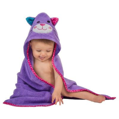 Zoocchini Baby Hooded Towels - Kallie the Kitten