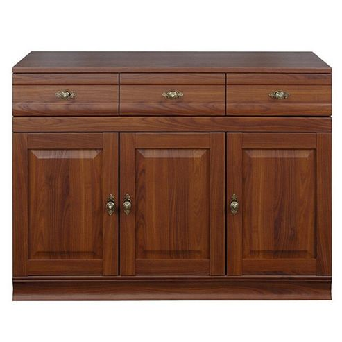 Caxton Lincoln 3 Door / 3 Drawer Sideboard in Cherry