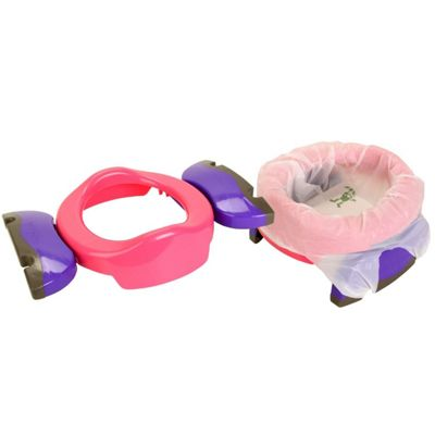 Potette Plus Travel Potty Pink Purple