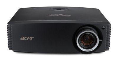 Acer P7500 DLP 3D (TI) Projector 40000:1 4000 Lumens 1024x768 7.5kg LAN (Black)