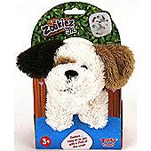Zookiez 20cm Junior Soft Toy - White Dog