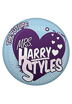 The Future Mrs Harry Styles Sky Blue Badge - Blue