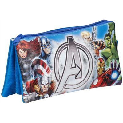Avengers Assemble 3 Pocket Pencil Case Stationery
