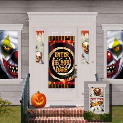 Halloween Creepy Carnival Decorations Kit - 1.65m