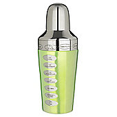 Trudeau Fusion Recipe Cocktail Shaker, Green