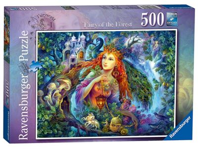 Fairy World - No 1 - Fairy of the Forest - 500pc Puzzle