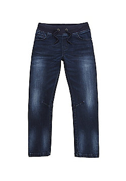 F&F Rib Waist Jeans - Indigo
