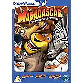 Madagascar 1-3 DVD