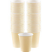 Ivory Coffee Cups - 340ml Paper Cups - 40 Pack