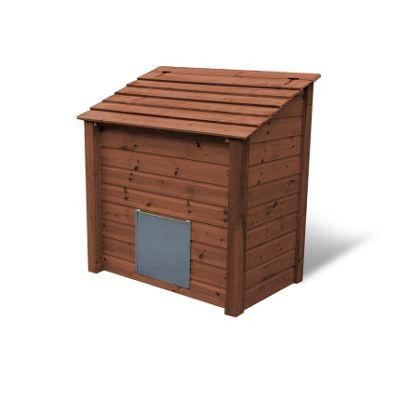 Ridlington wooden coal bunker