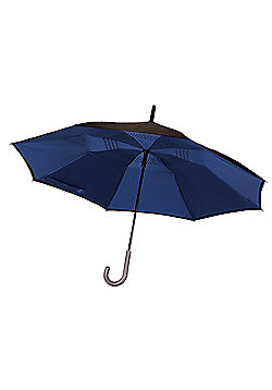 JML Incredibrella: The umbrella with inverted closing & opening and Windproof - Blue