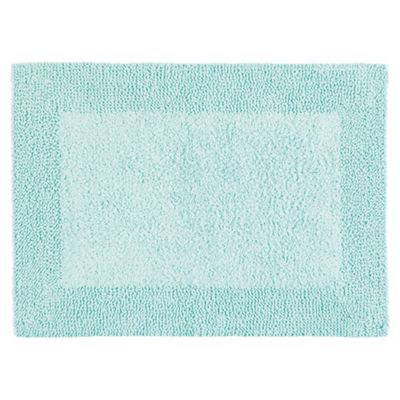 Tesco Reversible Bath Mat, Spearmint Green