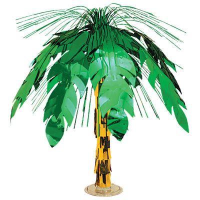 Palm Tree Cascade Table Centrepiece - 46cm