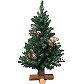 Mini Tabletop Christmas Tree - 2.5ft - 75cm