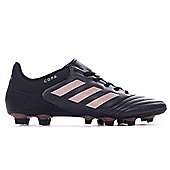 adidas Copa 17.4 FxG Firm Ground Mens Football Boot Black/Copper - Black