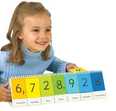 Smart Kids Place Value Flip Stand
