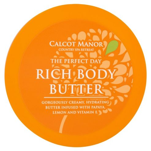 Calcot Manor  The Perfect Day Rich Body Butter