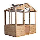 Mercia 4x6 Wooden Greenhouse