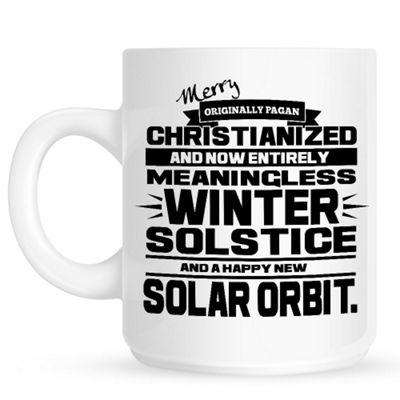 Winter Solstice 10oz Ceramic Mug
