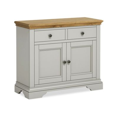 Normandy Grey Painted Small Sideboard - Sideboard
