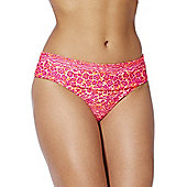 Curvy Kate Daze Fold-Over Bikini Briefs - Pink