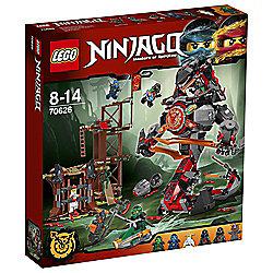 LEGO Ninjago Dawn of Iron Doom 70626