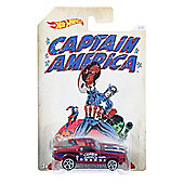 Hot Wheels Marvel Captain America Classics - '70 Ford Mustang Mach 1