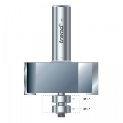 Trend 46/390 X 1/2 Tungsten Carbide Guided Rebater