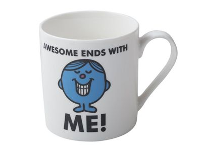 Creative Tops Mr Men Mr Perfect Slogan Can Mug Cup