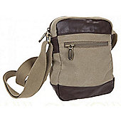 National Trust Small Canvas Shoulder Bag Khaki - Summit