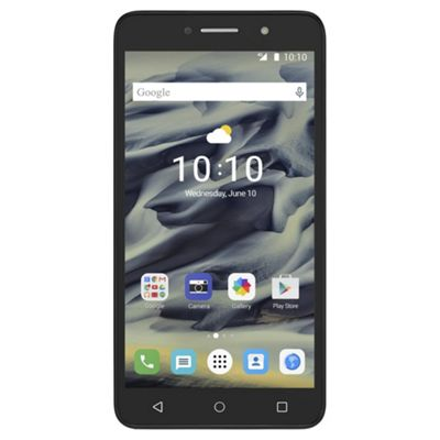 Tesco Mobile Alcatel Pixi 4 6 Volcano Black