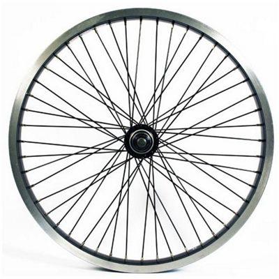 Wilkinson 24 x 1.75 Rear Alloy ATB Disc Wheel in Black