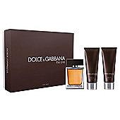 Dolce & Gabanna The One For Men 50ml Eau de Toilette Gift Set