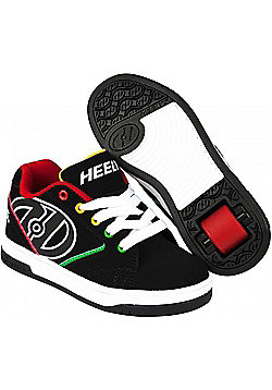 Heelys Propel 2.0 Black/Reggae Kids Heely Shoe UK 2