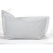 Children's Pillow Case - Navy Blue Spots