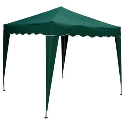 Tesco Polyester Pop Up Gazebo - 2.4mx2.4m 260g Water Proof