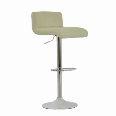 Neptune Cream Padded Seat Bar Stool