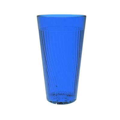 Clarity 12 oz Belize Tumbler - Blue (12 Pack)
