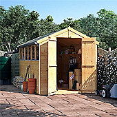 BillyOh Master Tongue and Groove Apex Wooden Garden Shed - 12 x 6 Windowed