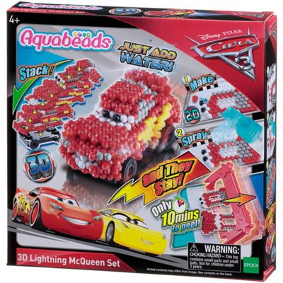 Aquabeads 3D Lightning McQueen Set
