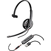 Plantronics Blackwire C315 Wired Mono Headset - Over-the-head - Supra-aural