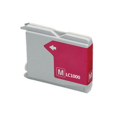 Brother LC1000M Magenta Replacement Printer Ink Cartridge
