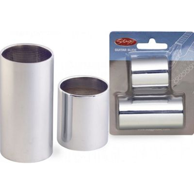 Stagg SGS-M Chromed Steel Slide Set - Medium