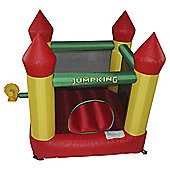 Jumpking Bouncy Castle with turrets 6.25ft X 6ft X 5ft