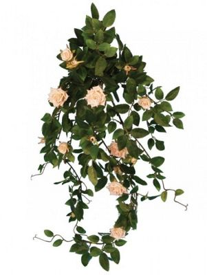 Artificial - Diamond Rose Bush - Vine Pink