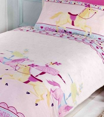 Horse and Ballerina Single Bedding
