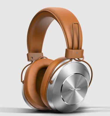 Pioneer SE-MS7BT Bluetooth Headphones Brown