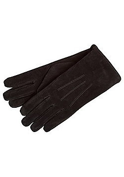 "F&F Signature Suede Gloves with Thinsulate""™ - Black"