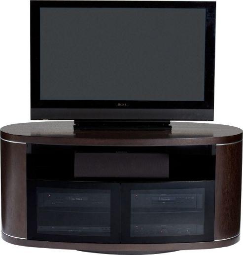 BDI REVO 9981 Dark Oak LCD Cabinet