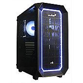 Cube Cobra TUF Upgradable RGB Gaming PC i5 Six Core 8GB RAM 2TB SSHD WIFI Add your GPU Windows 10